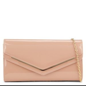 Aldo Ricley Beige Patent Bag in pink